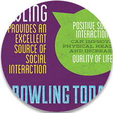 Bowling is Healthy Icon